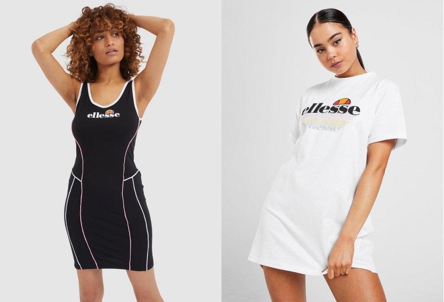Ellesse, klänning, Ellesse klänning, sommarklänning, T-Shirtklänning, JD Sports
