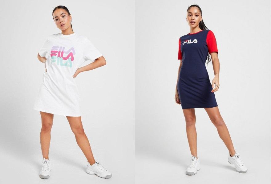 Fila,  klänning, Fila klänning, sommarklänning, T-Shirtklänning, JD Sports