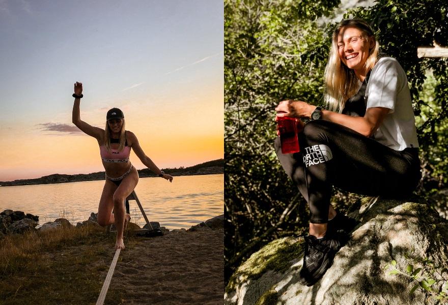 Jenny Holm om utomhusträning, outdoor och friluftsliv