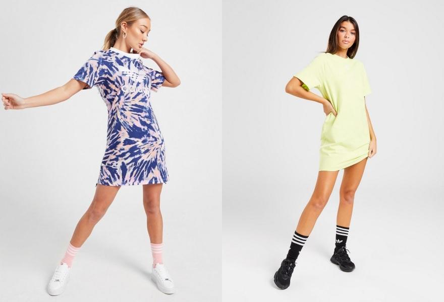 adidas Originals, adidas, klänning, sommarklänning, streetstil, T-Shirtklänning