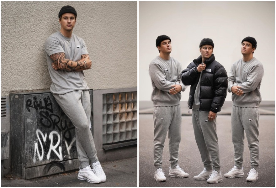 Emil, höstmode, Nike, The North Face