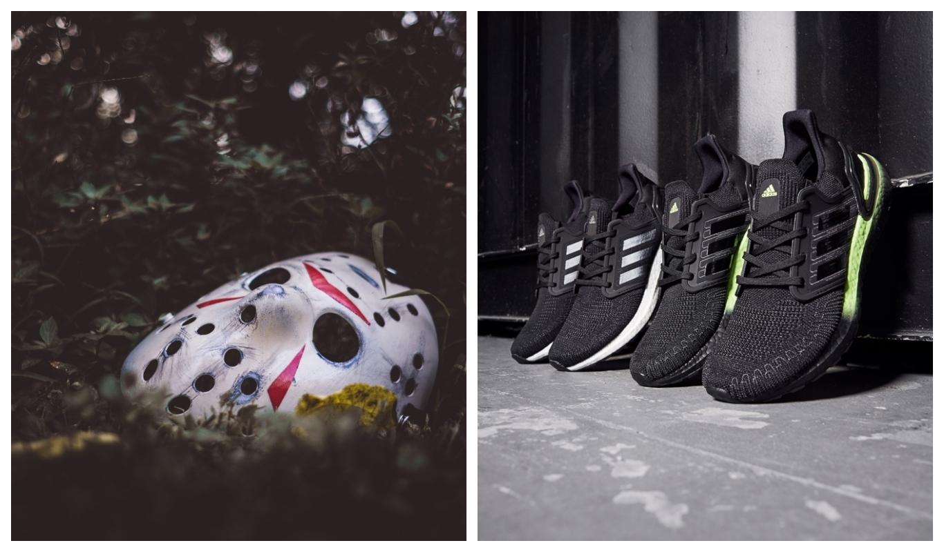 Halloween 2020, adidas Ultraboost, Fredag den 13, Friday the 13th, Fredag den trettonde