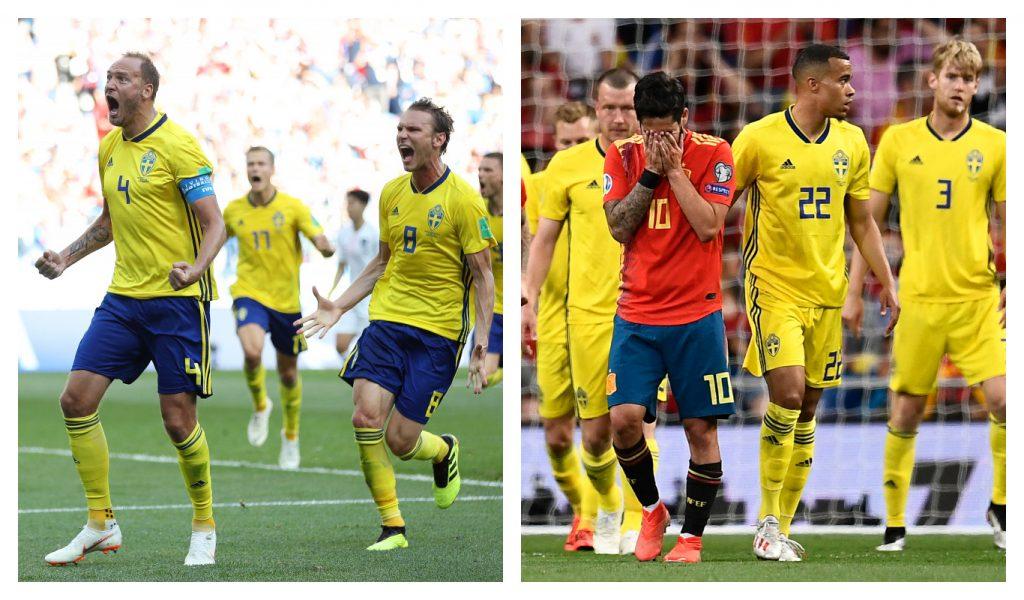 Spanien VS. Sverige, EURO 2020