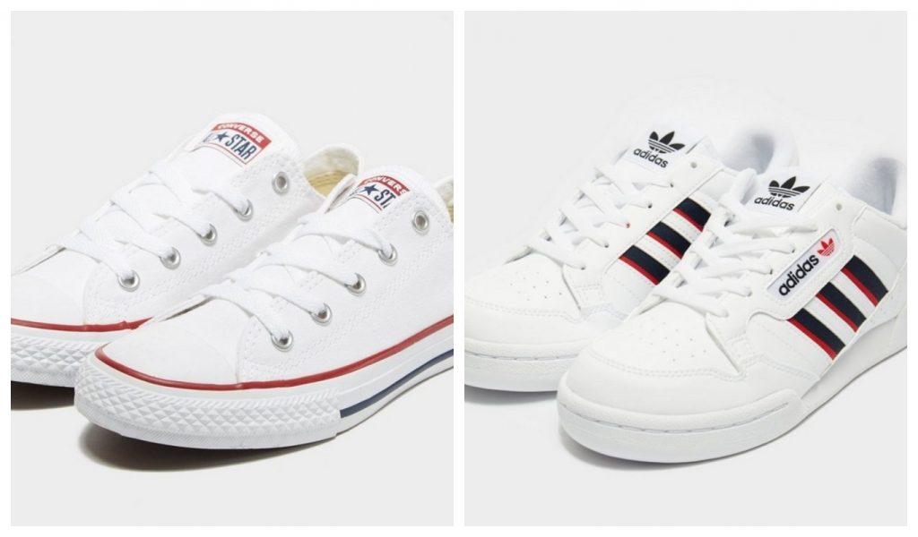 Rea, Barnskor, Converse All Star, adidas original Continental 80