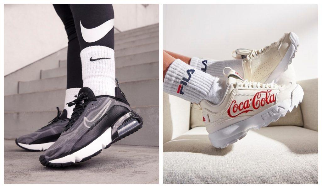 Rea, Nike Air Max 2090, Fila x Coca Cola Disruptor II